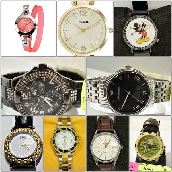 FEATURED DESIGNER BRAND NAME WATCHES