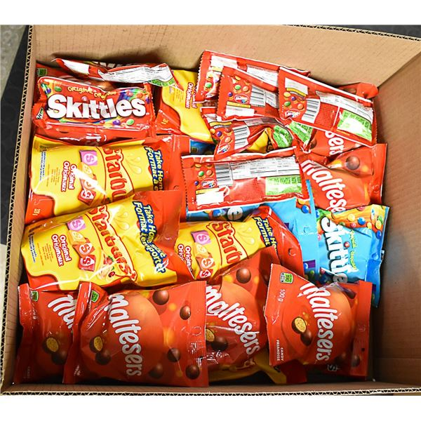 FLAT LOT OF BRAND NAME CANDY