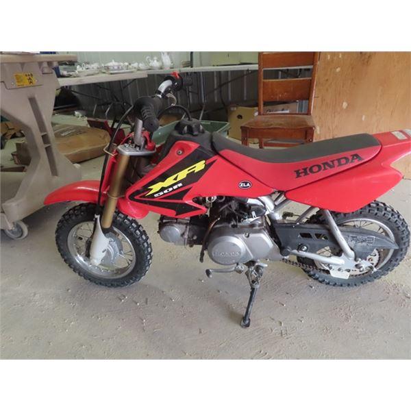 2003 Honda XR 50R Dirt Bike S#JH2AE03013K305735