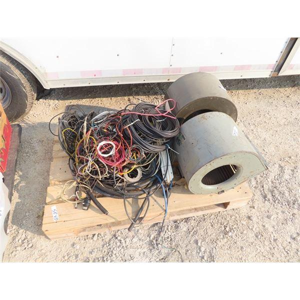 2 Furnace Blowers, Elec Wire