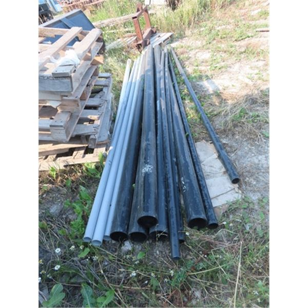 """12 Lengths of PVC Pipe 2"""" - 4"""""""