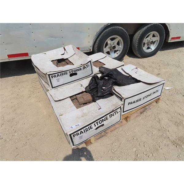 5 Boxes of Prairie Stone Siding - Matching