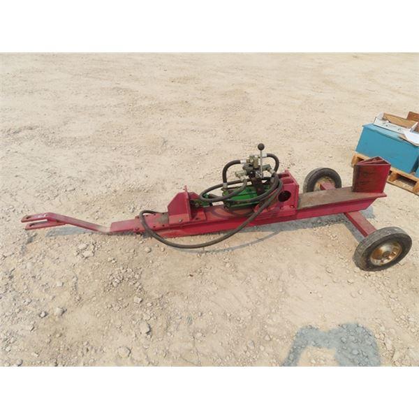Trailer Hydraulic Wood Splitter