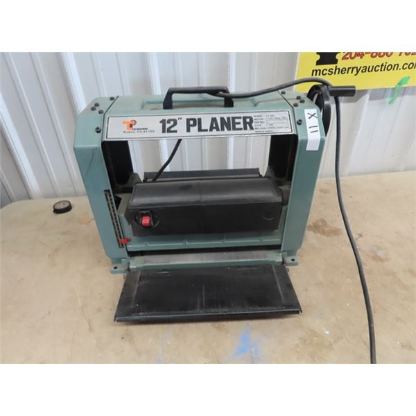 """Transpower Modle CT-318 12"""" Thickness Planer"""