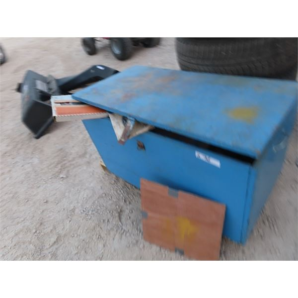 Wooden Storage Boxe, Full of Car Parts, Gaskets, & Fuel Pump