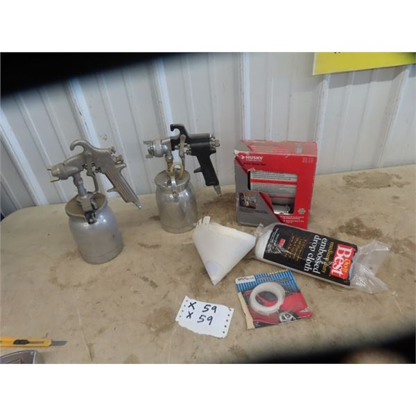 3 Air Paint Sprayers 1) Detailed Plus Auto Body Related