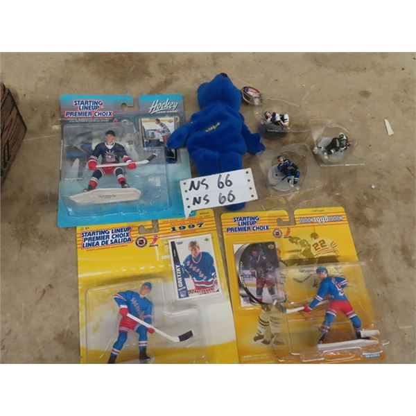 NHL Starting Line Up Figurines - Wayne Gretzky