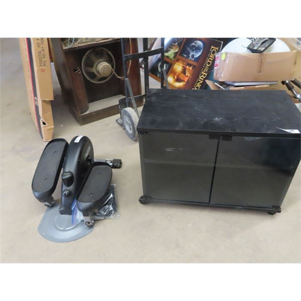 """Stereo Stand 21"""" X 28"""" x 16""""  & Motion Exerciser"""