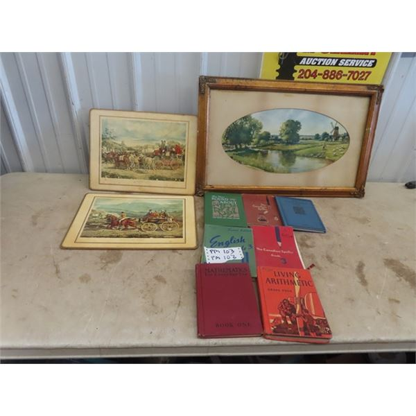 Pictures ,& Old School Books