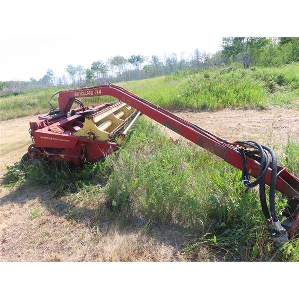 NH 114 14' Hydraswing Hay Bine S# 415359