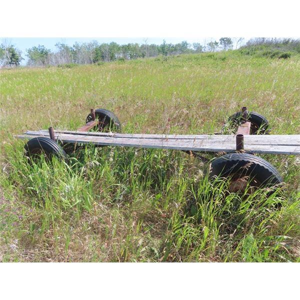 4 Wheel Farm Wagon