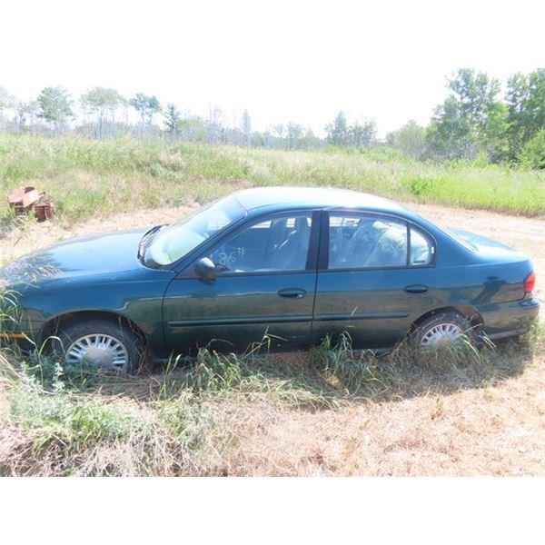 2000 Chevy Malibu LS -Not Running -No TOD -No Key