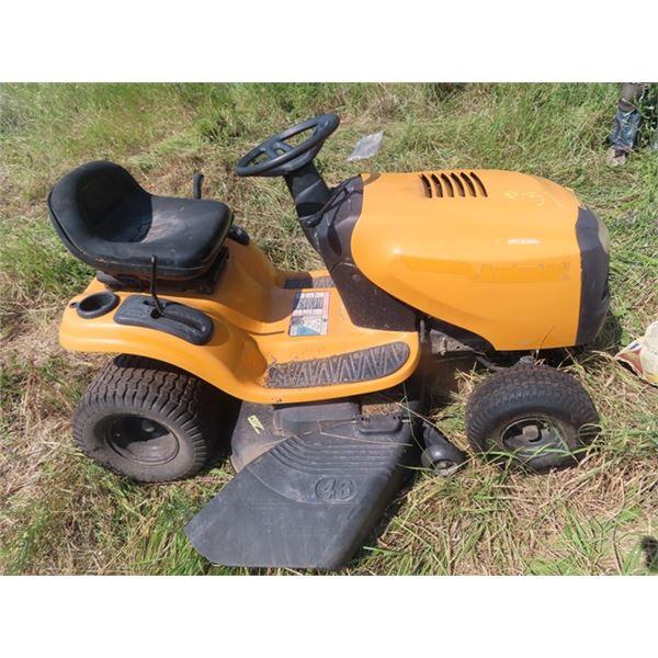 Pouland Pro PB19546LT 19.5 HP 46'' Cut Hydrastatic Riding Lawn Mower S# 021610D001063