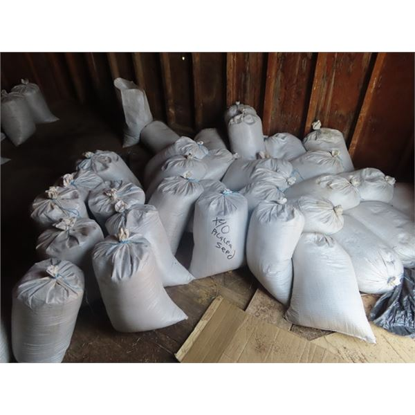 40 Bags of Alfalfa Seeds -Nontreated, Not Cleaned