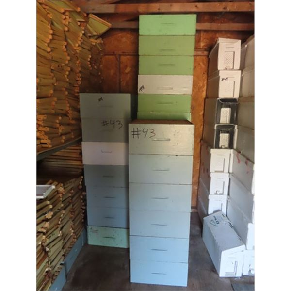 48 Deep & Shallow Honey Super Boxes
