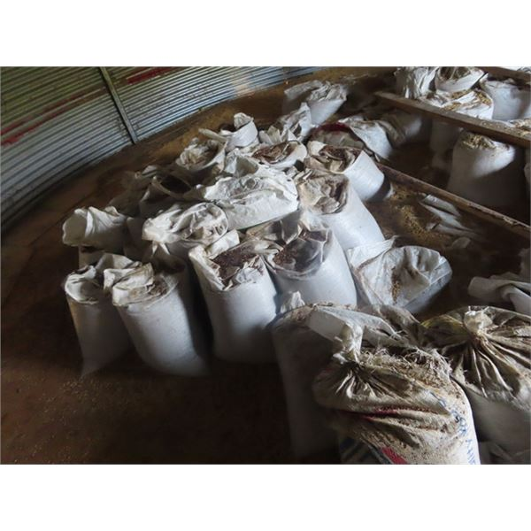 Approx. 50 Bags of Mixed Alfalfa Grass Seed -Not Treated, Not Cleaned