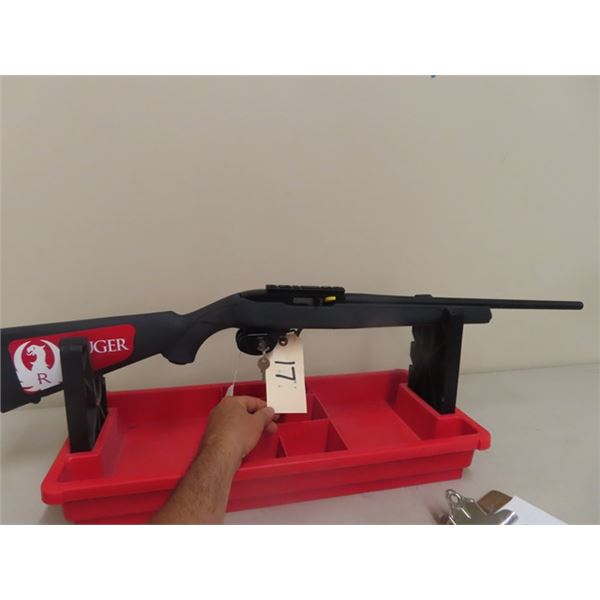 """New Ruger 10/22 22 LR SA 18.5"""" , 1 Magazine S#001733220- New w Box & Trigger Locks-MUST HAVE PAL TO"""