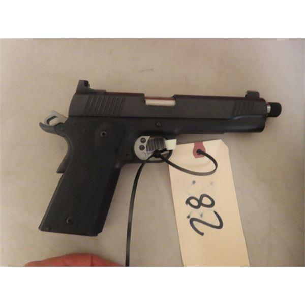 "New Kimber Mdl Custom TLE II 1911 SA 9mm, 5.5"" Threaded Barrel, w Hard Case, S#KF35162 - New w Box &"