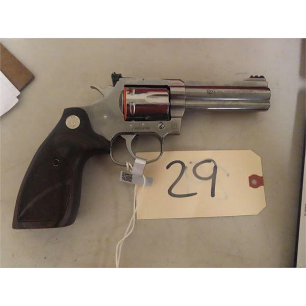 """New COlt King Cobra 357 Mag Rev 4.2"""" Barrel, S# RA 253728 w Hard Case - New w Box & Trigger Locks-MU"""