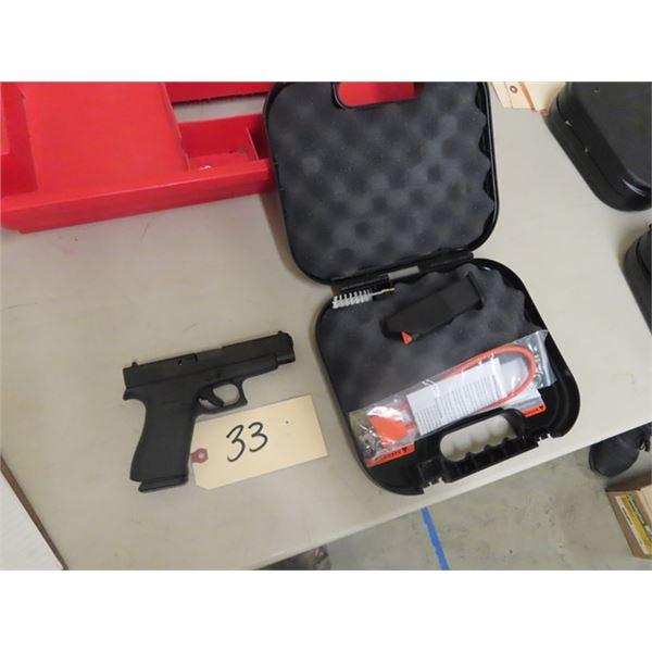 New Glock 48 - 9mm Luger SA w 2 Magazines , Hard Case S# AETB114-New w Box & Trigger Locks-MUST HAVE