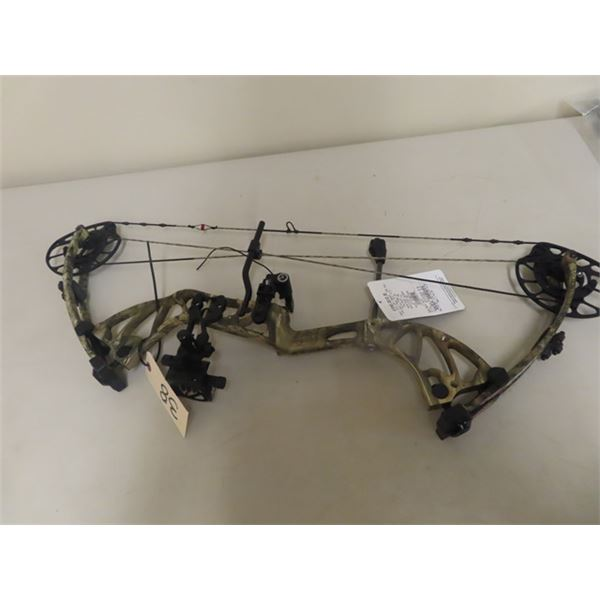 New PSE Mdl RTS Pro Driver 3B Compound Bow Left Handed, Draw Weight 70 S#26567322970 w Box & Accesso