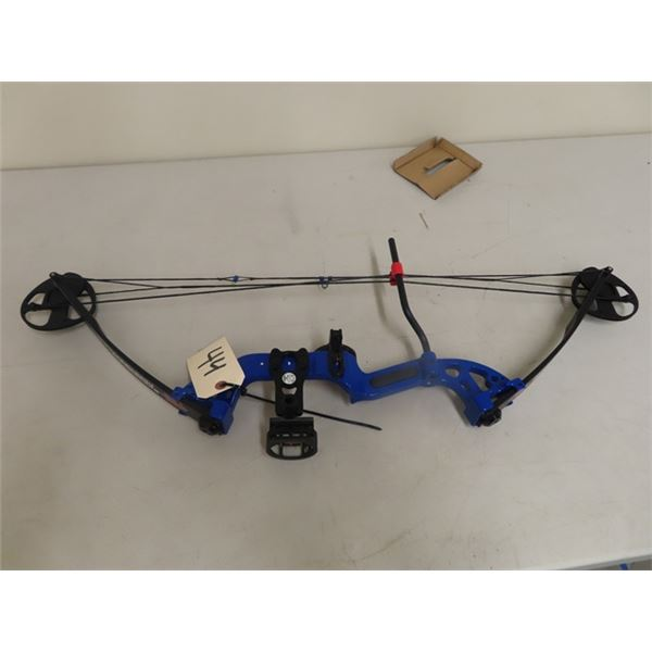 Used PSE Discovery 2 Left Handed Compound Bow Draw Weight 15-30 Lbs Draw Length Up to 29'' No Let Of