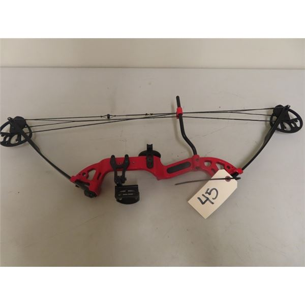 Used PSE Discovery 2 Right Handed Compound Bow Draw Weight 15-30 Lbs Draw Length Up To 29'' No Let O