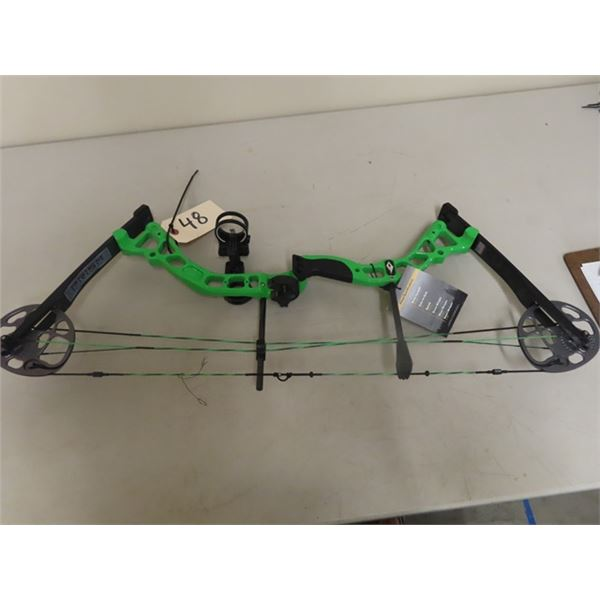 New Diamond Prism Right Handed Compound Bow Draw Weight 5-55Lbs Draw Length 18-30''