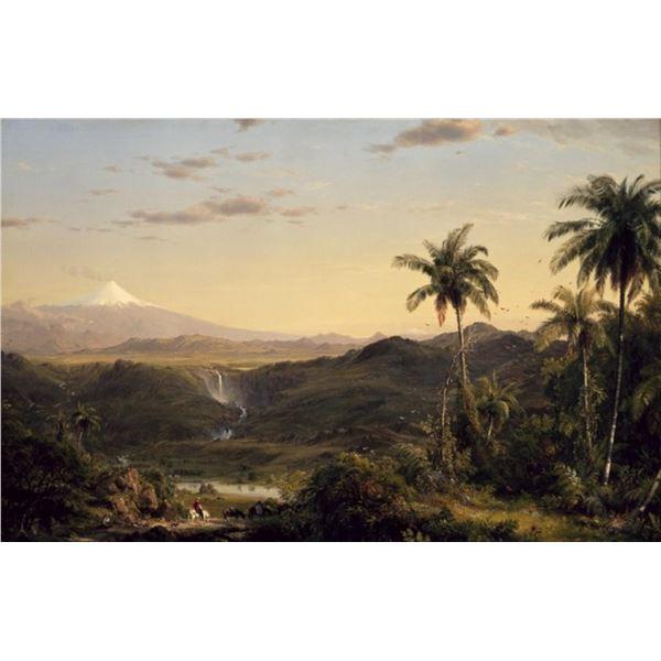 Frederic Edwin Church - Cotopaxi Ecuador