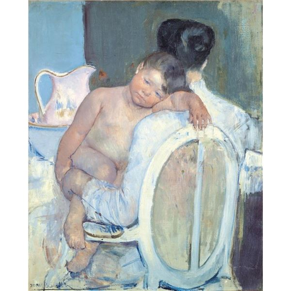Cassatt - Woman Sitting with a Child in Her Arms