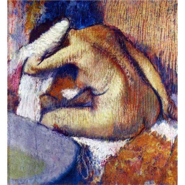 Edgar Degas - Woman After Bath
