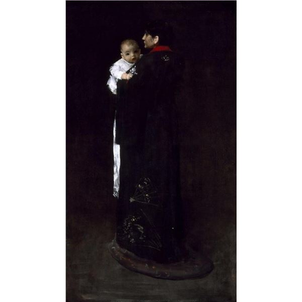William Merritt Chase - Mother and Child
