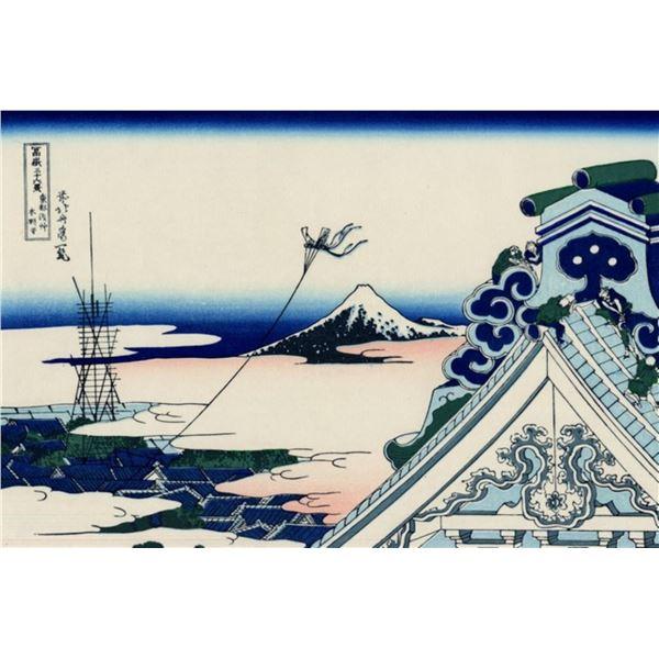 Hokusai - Asakusa Honganji Temple