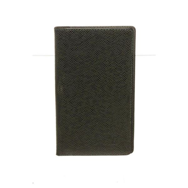Louis Vuitton Black Long Bifold Wallet