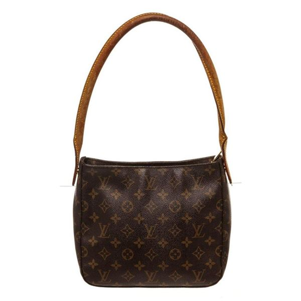Louis Vuitton Brown Monogram Looping MM Shoulder Bag