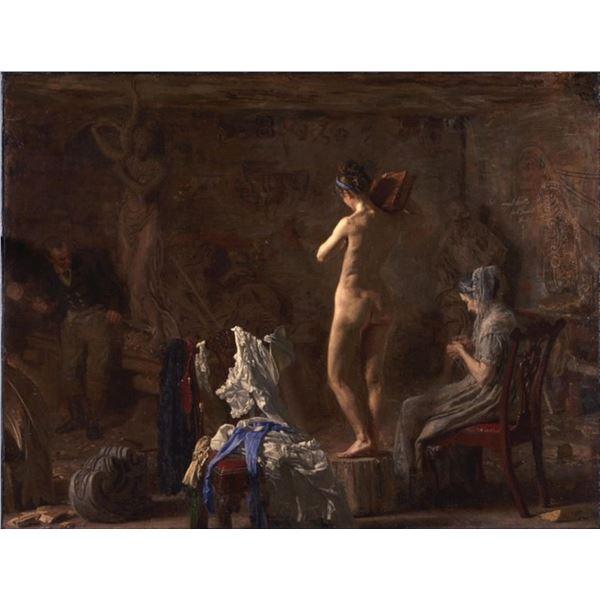 Thomas Eakins - William Rush Carving a Figure