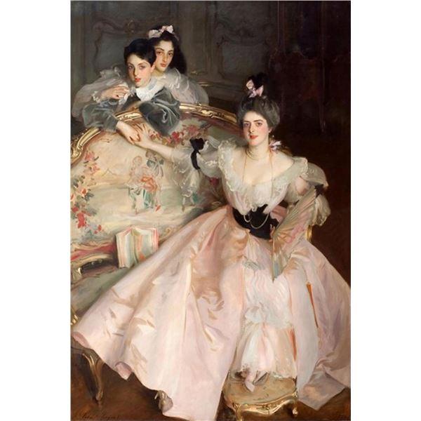 Sargent - Mrs Carl Meyer and her Children