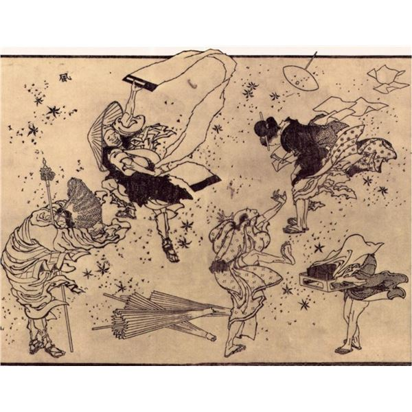 Hokusai - Sudden Wind