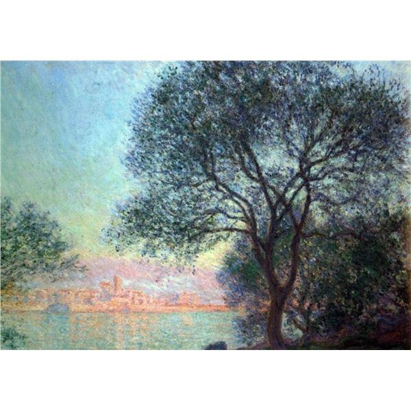 Claude Monet - Antibes Seen from La Salis