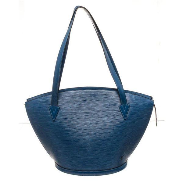 Louis Vuitton Blue St. Jacques GM Tote Bag