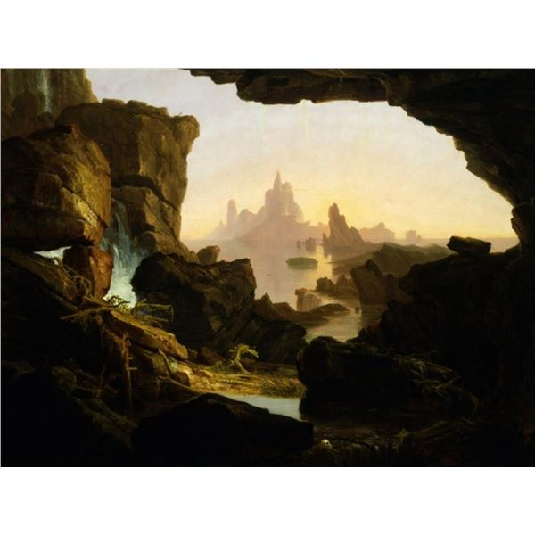 Thomas Cole - The Subsiding of the Waters of the Deluge