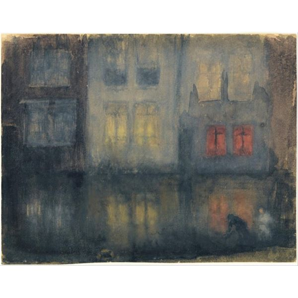Whistler - Nocturne Black and Red�Back Canal