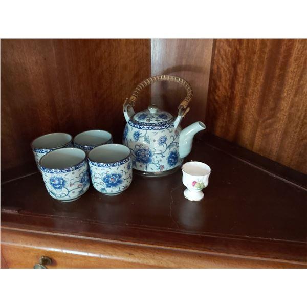 Chinese tea set A