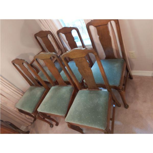 Antique dining chairs Cat C