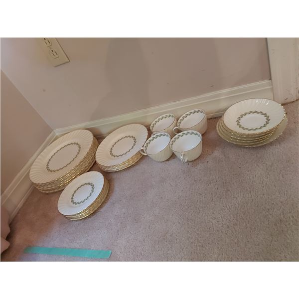 Minton Dinnerware Cheviot White Cat A