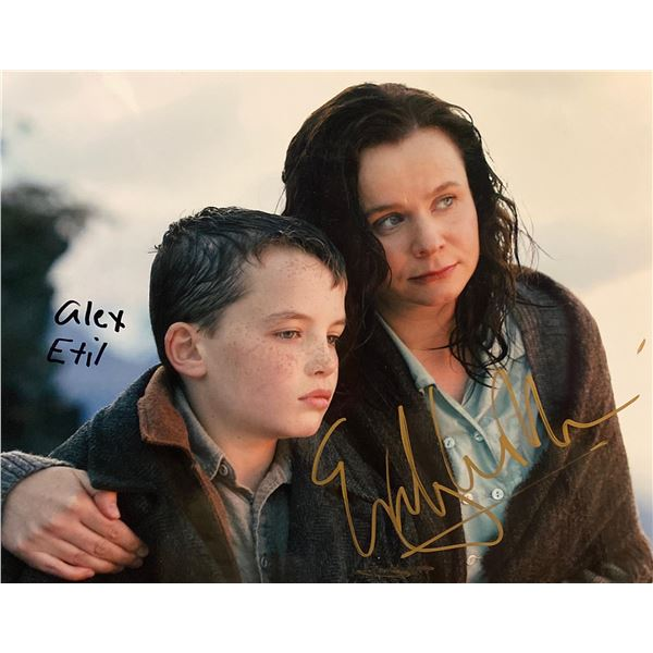 The Water Horse: Legend of the Deep Alex Etel and Emily Watson signed movie photo