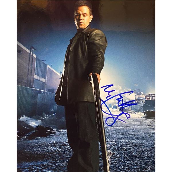 Max Payne Mark Wahlberg signed movie photo