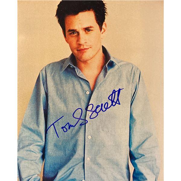 Tom Everett Scott signed photo
