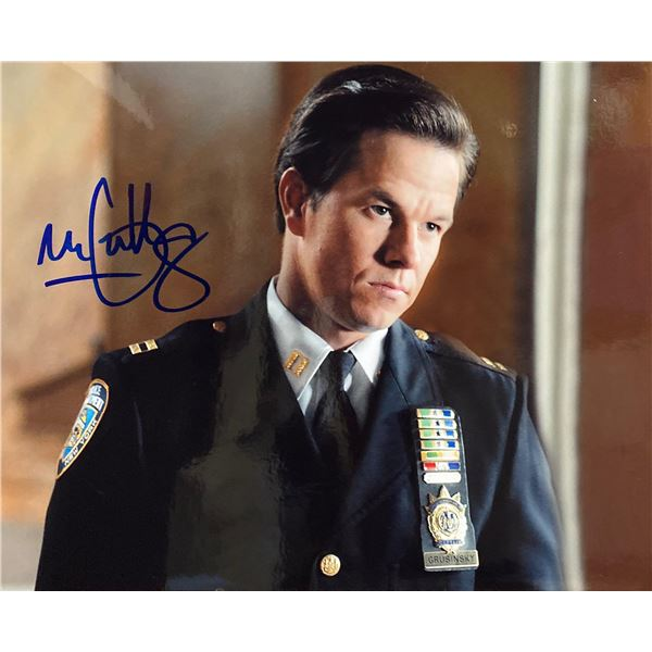 We Own the Night Mark Wahlberg signed movie photo