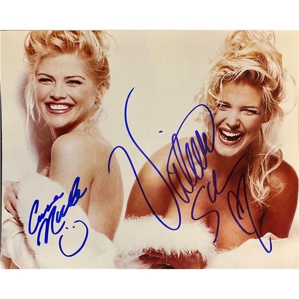 Victoria Silvstedt & Anna Nicole Smith signed photo